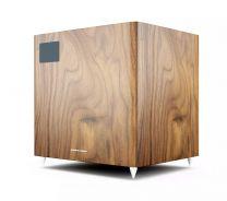 Acoustic Energy AE108² - Powerful Active Subwoofer (Single) - Walnut Vinyl Veneer