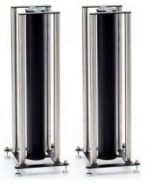 Custom Design FS 104 Signature Speaker Floor Stands - Black / Brushed Chrome