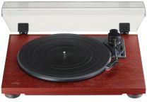 TEAC TN-180BT 3-speed Analog Turntable with Phono EQ and Bluetooth - Cherry