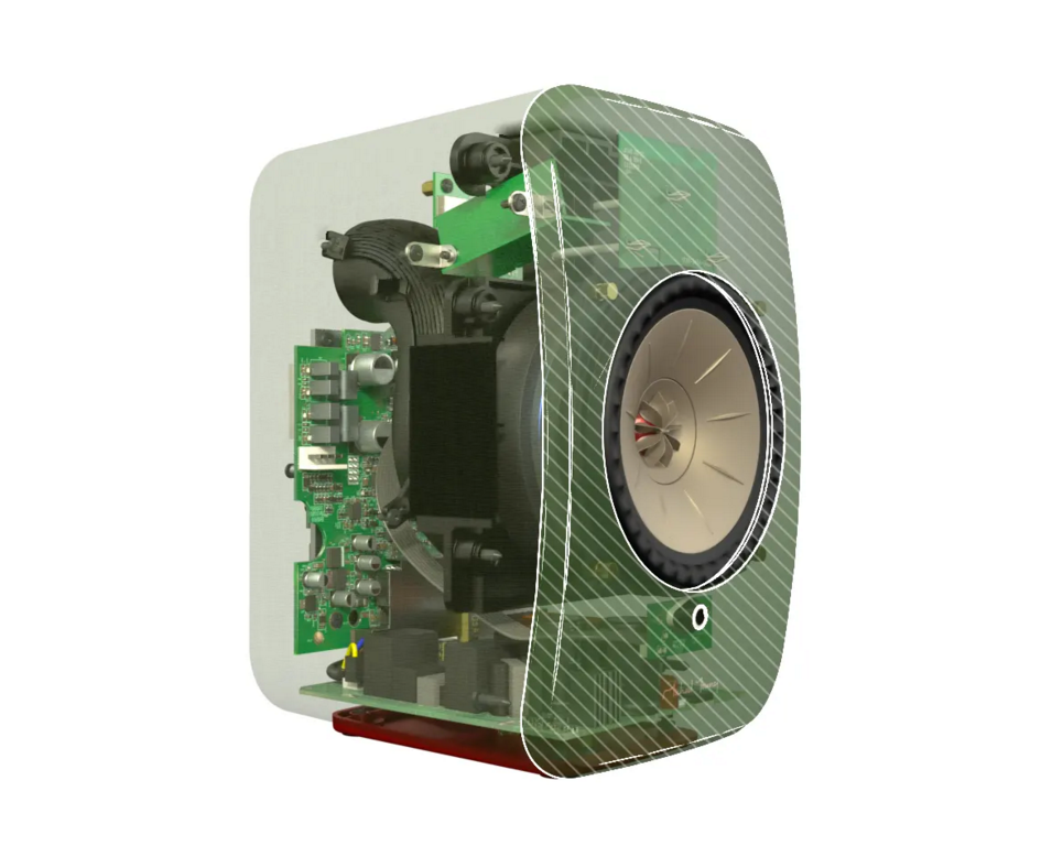 LSX's Contoured Baffle Speaker