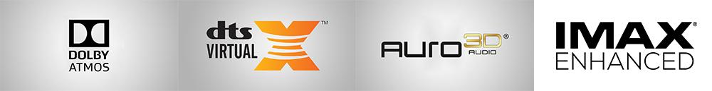 Denon AVC-X6500H Premium 11 2 channel AV Surround Amplifier - Black