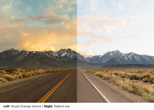 Road orange comparison