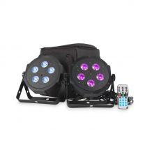 ADJ VPAR PAK - LED Par Kit Twin Pack With Carry Bag & Remote