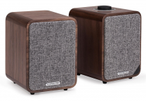 Ruark Audio MR1 MkII Desktop Bluetooth Speaker - Rich Walnut