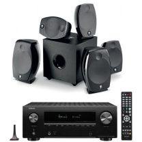 Denon AVR-X2700H 7.2 AV Amplifier + Focal Sib Evo 5.1.2 Dolby Atmos AV Speaker Bundle