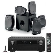 Denon AVC-X4700H 8K AV Receiver + Focal Sib Evo 5.1.2 Dolby Atmos AV Speaker Bundle