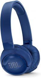 JBL TUNE 600BTNC - Wireless On-Ear Active Noise-Cancelling Headphones - Blue