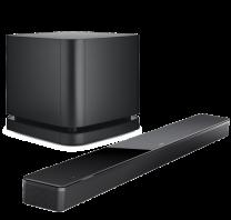 Bose Soundbar 700 + Bass Module 500 Wireless Subwoofer Bundle - Black/Black