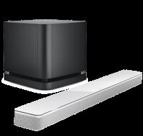 Bose Soundbar 700 + Bass Module 500 Wireless Subwoofer Bundle - White/Black