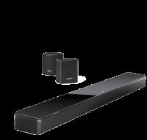 Bose Soundbar 700 + Surround Speakers Bundle - Black