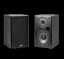 Polk T Series T15 Bookshelf Speakers - Black