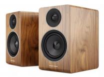 Acoustic Energy AE100 - Compact Standmount / Bookshelf Speaker (Pair) - Walnut Vinyl Veneer