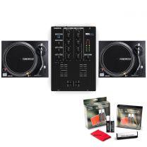 Twin Reloop RP-2000 MK2 + Reloop RMX-10BT + FREE DJ Vinyl Cleaning Kit