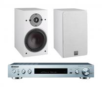 Dali Oberon 3 Bookshelf Speakers + Pioneer SX-S30DAB Network Stereo Receiver