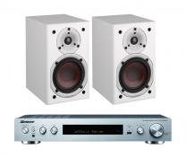 Dali Spektor 1 Speakers + Pioneer SX-S30DAB Network Stereo Receiver