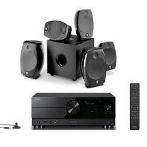 Yamaha RX-A2A AV Receiver 4K 120Hz + Focal Sib Evo Dolby Atmos 5.1.2 AV Speaker Package