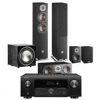 Denon AVC-X4700H AV Surround Amplifier with Dali Oberon 5 5.1 Speaker Package