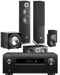 Denon AVC-X6700H AV Surround Amplifier with Dali Oberon 5 5.1 Speaker Package