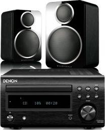 Denon RC-DM41DAB + Wharfedale DX-2 Satellite Speakers