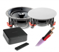 Harman Kardon Citation Amp + Focal 100 Series 100ICW6 In-Ceiling Speakers Pair + Speaker Cable