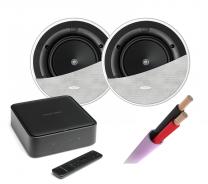 Harman Kardon Citation Amp + KEF Ci160.2CR In-Ceiling Speakers Pair + Speaker Cable