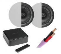 Harman Kardon Citation Amp + Q Install Qi65C Professional Speakers Pair + Speaker Cable