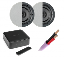 Harman Kardon Citation Amp + Q Install Qi65CB Speakers Pair + Speaker Cable