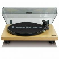 Lenco L-30 - Turntable with Auto-Stop and PC Encoding - Wood