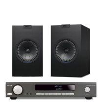 ARCAM SA10 + KEF Q150 Bookshelf Speakers