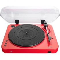 Lenco L-85 - USB Direct Recording Turntable - Red