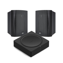Sonos Amp w/ KEF Ventura 5 Outdoor Speakers - Bundle