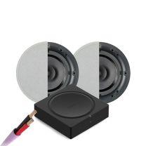 Sonos Amp w/ x2 Qi65CB + Speaker Cable