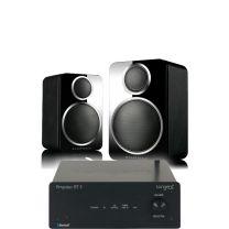 Tangent Ampster BT II HiFi Amplifier + Wharfedale DX-2 Satellite Speakers