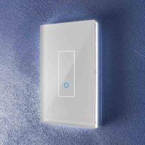 Iotty Rectangular Model E (LSWE21W) - 1 Gang Smart Switch - White