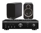 Denon PMA-600NE Integrated Amplifier + Q Acoustics 3020i Bookshelf Speakers