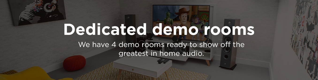 Dedicated demo rooms